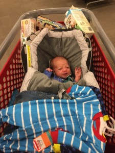 Max's first trip to Target